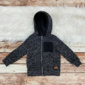 7 For All Mankind Kid's Boy's Hooded Jacket Sz 2T